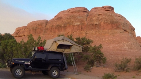 Cross Country Journey with a Roof Top Tent